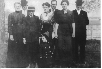 Mary Jesse's family prior to 1919 James Jesse - William Jesse - Claybrook Jesse Mary Jesse (Mary D. Jesse's mother) - Frances Jesse - Bessie Jesse Hampton Jesse, Sr - Deshield Jesse. Courtesy of Peg Dickinson